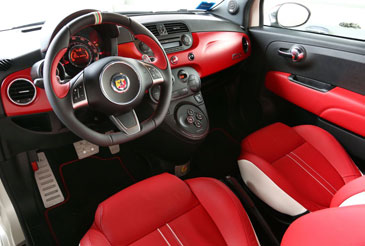 abarth 595 50 anniversario 2013 essai. Black Bedroom Furniture Sets. Home Design Ideas