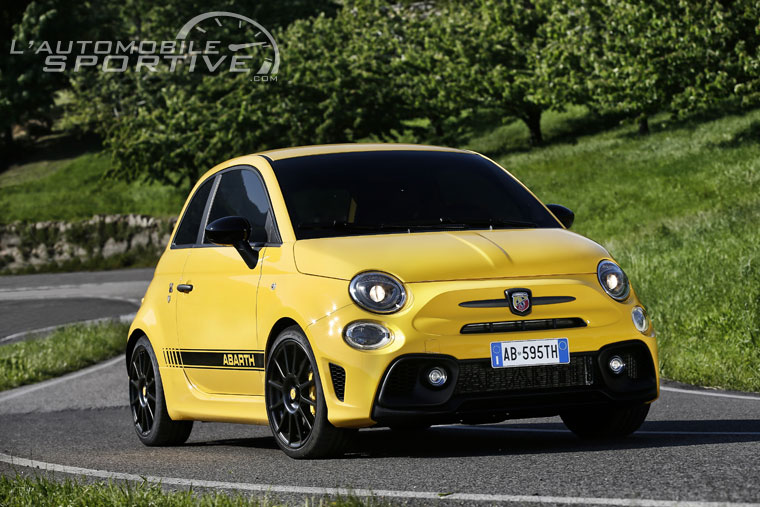 abarth 595 competizione 180 ch facelift 2016 essai. Black Bedroom Furniture Sets. Home Design Ideas