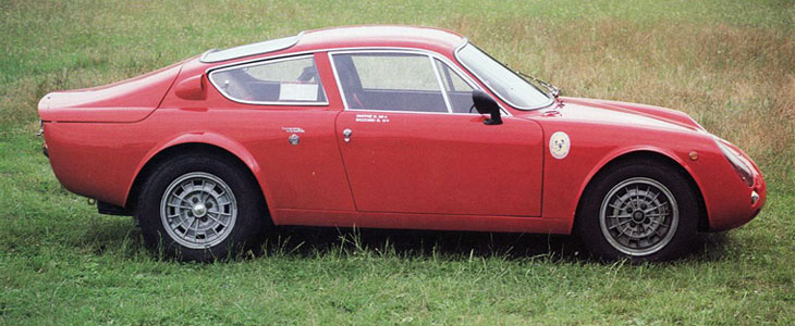 ABARTH SIMCA 1300 GT / 2 Mila (1962-1965) - RETRO