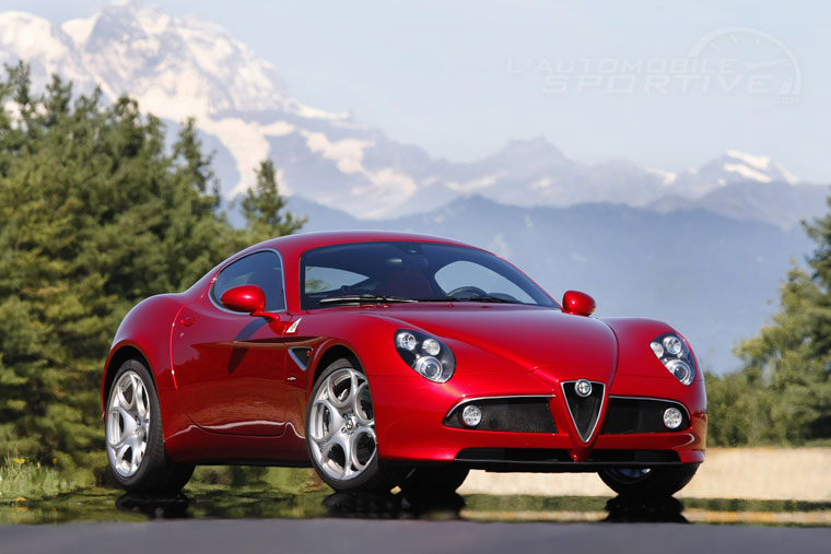alfa romeo 8c competizione 2007 2008 collector. Black Bedroom Furniture Sets. Home Design Ideas