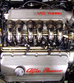 preparation moteur alfa v6 turbo