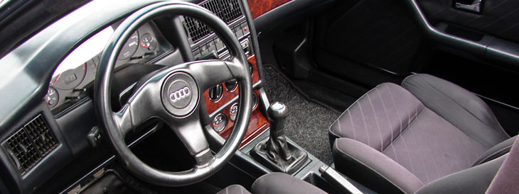 Audi 80 cabriolet 1991 1994 guide occasion for Audi 80 interieur