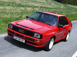 audi quattro sport 1984 collector. Black Bedroom Furniture Sets. Home Design Ideas