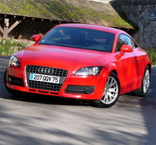 Guide d'achat de l'Audi TT Tt2L0tfsi-ouverture