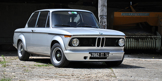 COLLECTOR BMW 2002 turbo (E20)