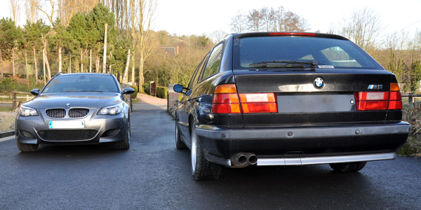 BMW M5 Touring (E61/E34)