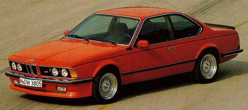 bmw s rie 6 e24 m635 csi 1984 1988 guide occasion. Black Bedroom Furniture Sets. Home Design Ideas
