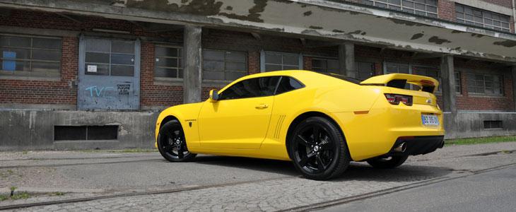 chevrolet camaro transformers edition (2011-) - essai