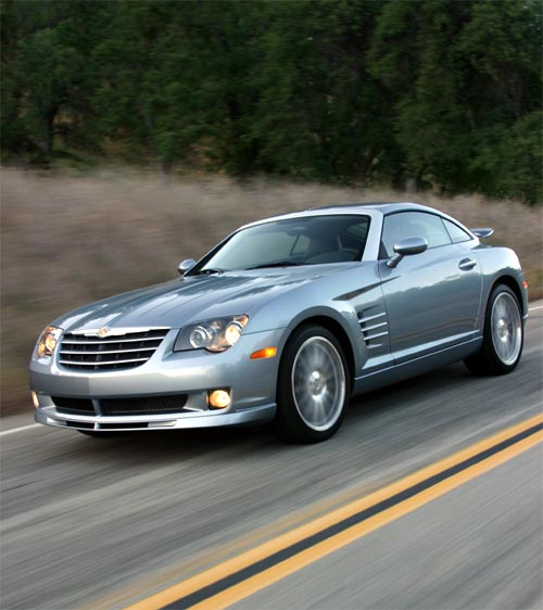 chrysler crossfire srt 6 2004 essai. Black Bedroom Furniture Sets. Home Design Ideas