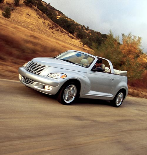 chrysler pt cruiser 2 4 turbo cabriolet 2004 essai. Black Bedroom Furniture Sets. Home Design Ideas