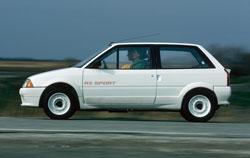 AX Sport, une voiture concue pour la compétition