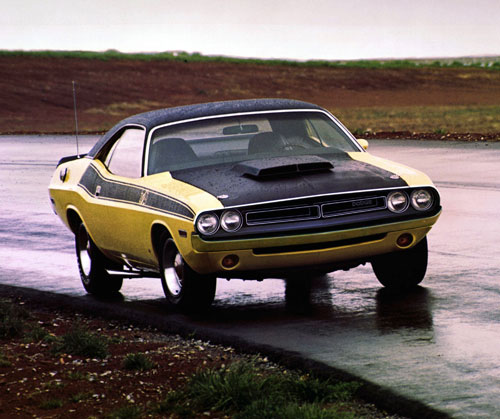 Dodge Challenger 1970 1974 Retro