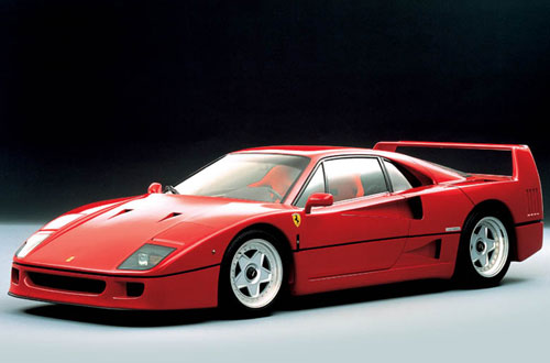 ferrari f40 1987 1989 collector. Black Bedroom Furniture Sets. Home Design Ideas