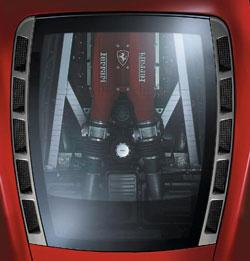 Ferrari F430 Spider Revell F430-moteur