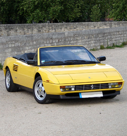ferrari mondial t cabriolet 1989 1993 guide occasion. Black Bedroom Furniture Sets. Home Design Ideas