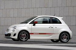 fiat 500 abarth 2008 essai. Black Bedroom Furniture Sets. Home Design Ideas