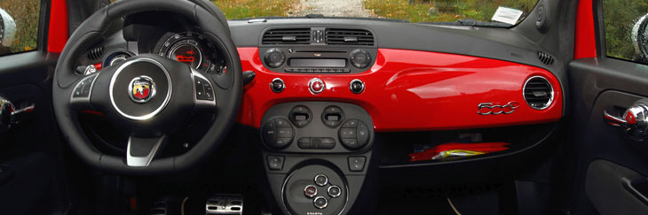 Fiat 500 c abarth 2010 essai for Fiat 500 interieur