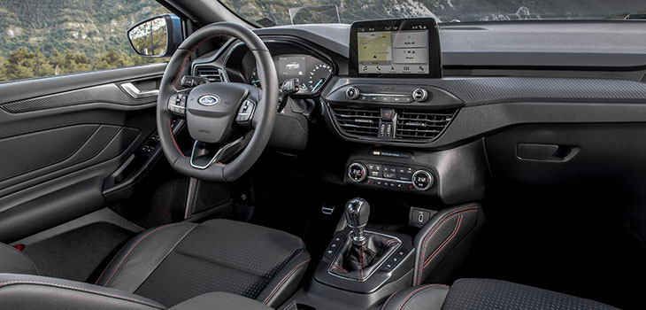interieur ford focus st line 2019