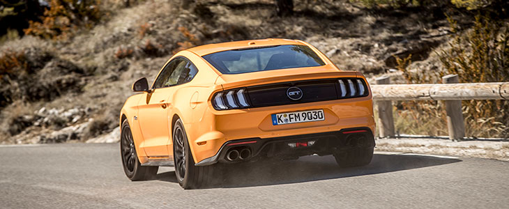 essai ford mustang 6 gt v8 2018 phase 2 bva10