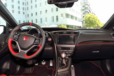 Honda civic type r fk2 2015 essai for Honda civic 8 interieur