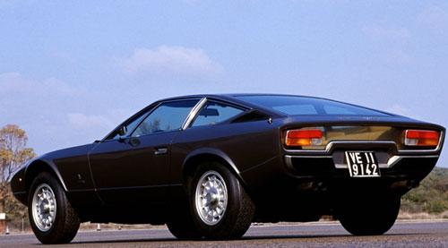 Maserati Khamsin 1972 1982 Retro