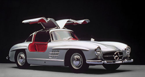 mercedes benz 300 sl w198 1954 1963 collector. Black Bedroom Furniture Sets. Home Design Ideas