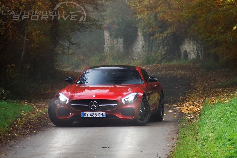 Mercedes Benz Amg Gt 2014 Essai