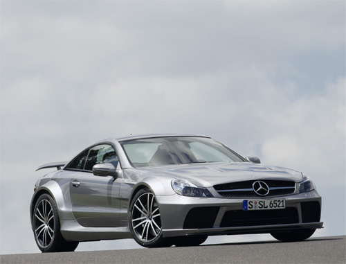 Mercedes Benz Sl R230 65 Amg Black Series 2008 2009 Collector