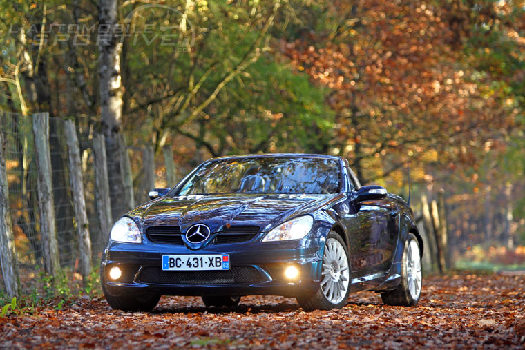 mercedes benz slk r171 55 amg 2004 2010 guide occasion. Black Bedroom Furniture Sets. Home Design Ideas