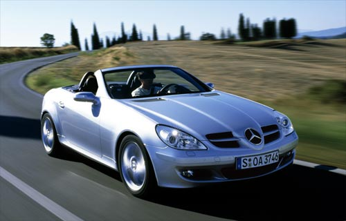 mercedes benz slk r171 200 k 2004 essai. Black Bedroom Furniture Sets. Home Design Ideas