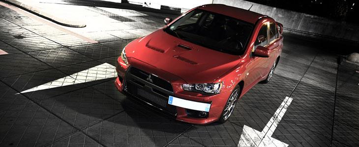 Essai Mitsubishi Lancer Evo X Sst