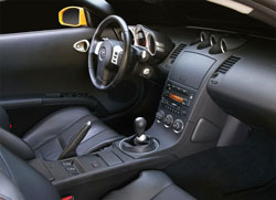 Nissan 350z 35th anniversary 2005 collector for Interieur zx