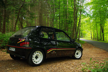 Peugeot 106 rallye 1993 1996 guide occasion for Interieur 106 xsi
