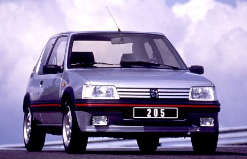 peugeot 205 gti 1984 1994 guide occasion. Black Bedroom Furniture Sets. Home Design Ideas