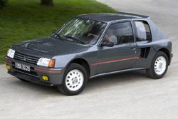 peugeot 205 turbo 16 s rie 200 1984 1985 collector. Black Bedroom Furniture Sets. Home Design Ideas