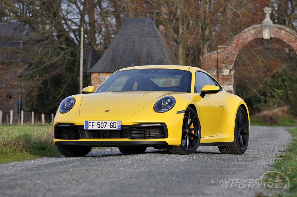 Porsche 911 992 Carrera 4s 2019 Essai