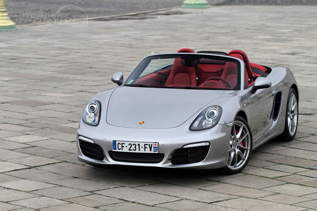 porsche boxster 981 s 2012 essai. Black Bedroom Furniture Sets. Home Design Ideas