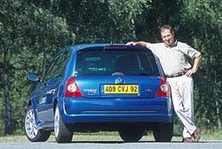 Renault Clio 2 Rs Jean Ragnotti 2002 Essai