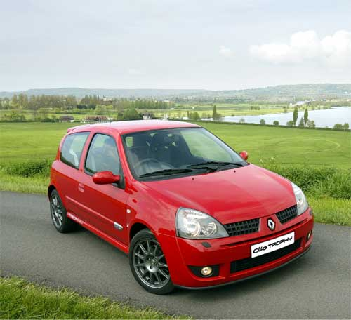 renault clio 2 rs trophy 2005 collector. Black Bedroom Furniture Sets. Home Design Ideas