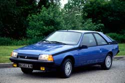 renault fuego turbo 1983 1985 guide occasion. Black Bedroom Furniture Sets. Home Design Ideas