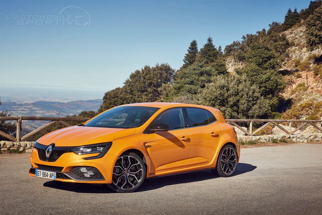 renault megane 4 rs 280 edc 2018 essai. Black Bedroom Furniture Sets. Home Design Ideas