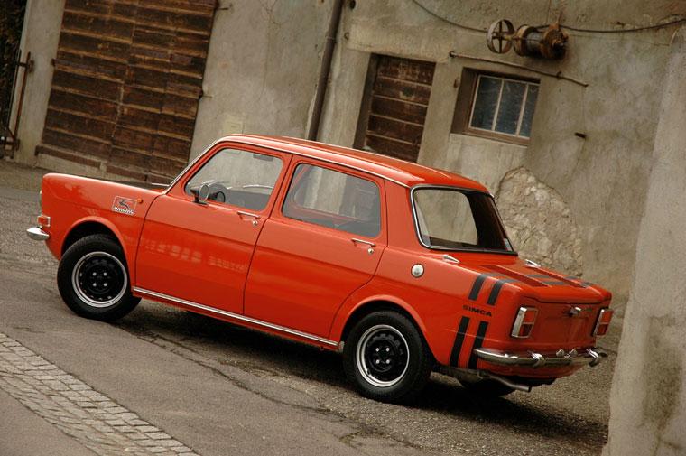 Simca 1000 Rallye 1971 & Rallye II 1973 Simca1000rallye