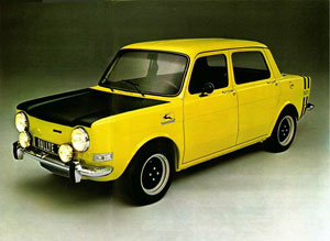 simca 1000 rallye 1970 1978 retro. Black Bedroom Furniture Sets. Home Design Ideas
