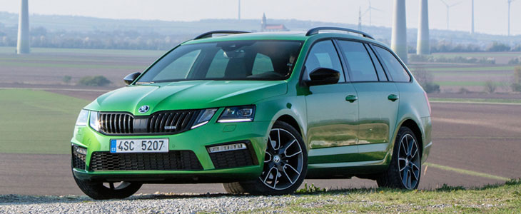 skoda octavia iii rs combi tdi 4x4 2017 essai. Black Bedroom Furniture Sets. Home Design Ideas
