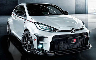 toyota gr yaris gazoo racing parts