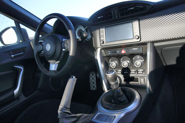 interieur toyota gt86 phase 2 facelift mk2