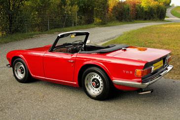 Triumph Tr6 1969 1976 Retro