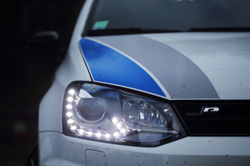 vw polo r logo