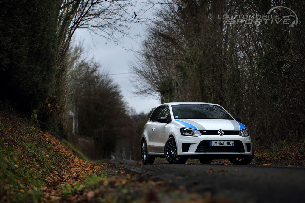 vw polo R WRC edition