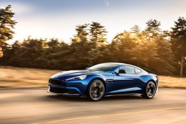 L'Aston Martin Vanquish reçoit un